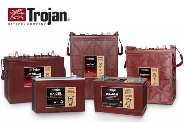 Bateria Trojan